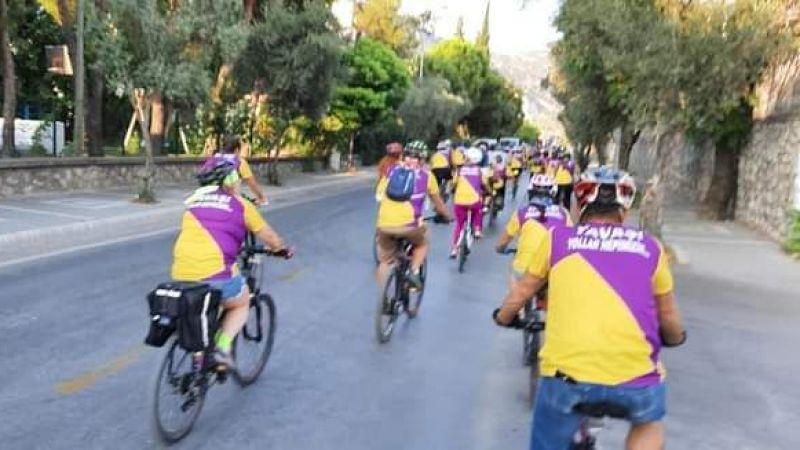 Bisikletçiler Muğla'da buluştu