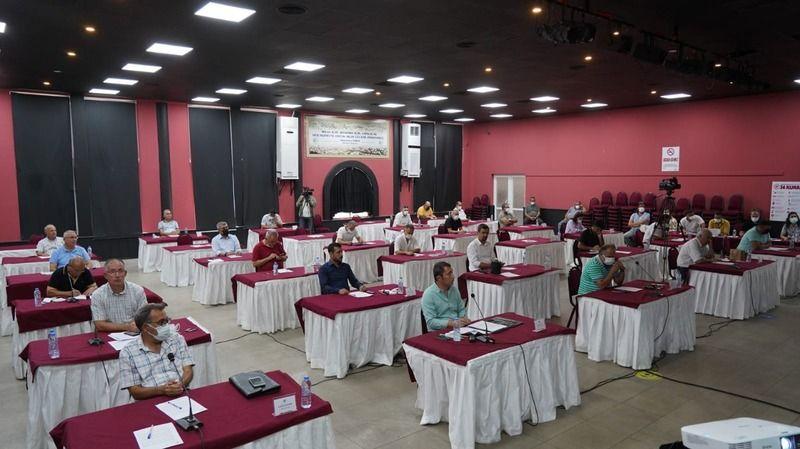 Eylül ayı meclis toplantısı tamamlandı