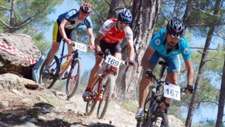 Dağ bisikleti yarışı Bafa Kapıkırı'nda…