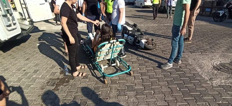 Milas'ta trafik kazası... 2 yaralı