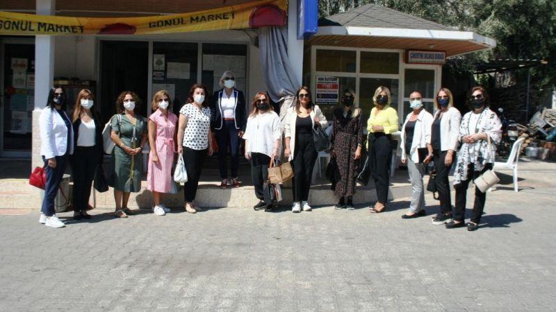 Kadın girişimciler, proje üretmek için Milas'a geldi
