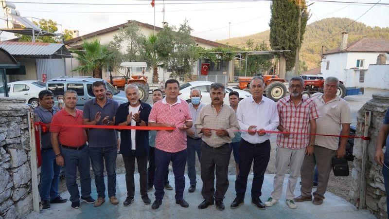 Çok amaçlı sosyal alanın açılışı yapıldı