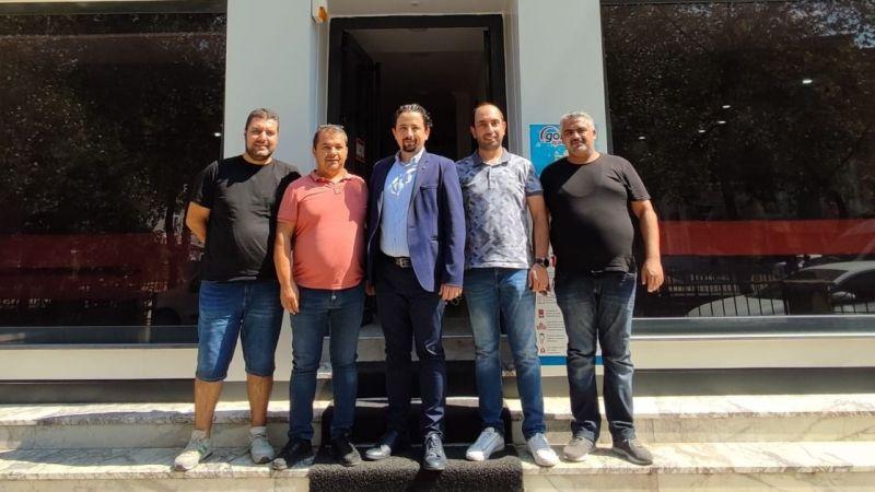 Dayıoğlu'ndan, Korkmaz'a nezaket ziyareti