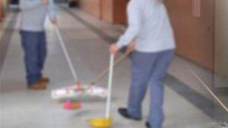 25 bin öğrenciye 25 temizlik görevlisi
