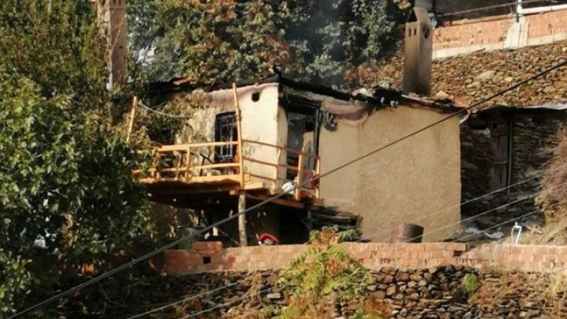 Kaymakam Böke'den evi yanan vatandaşlara ziyaret