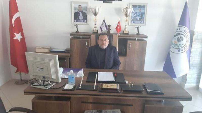 Yeni Milasspor'da başkan belli oldu
