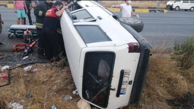 Trafik kazası... 1 yaralı