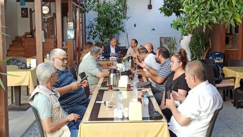Milletvekili Özcan genel ve yerel gündemi değerlendirdi