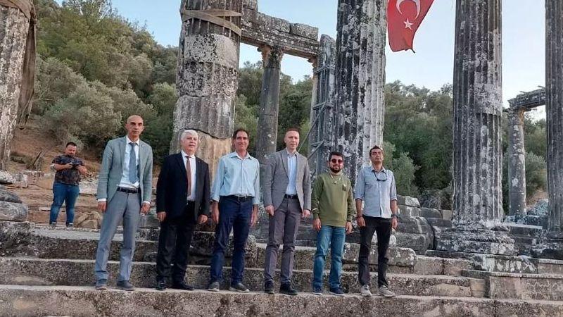 Zeus Lepsynos Tapınağı için tarihi gün…