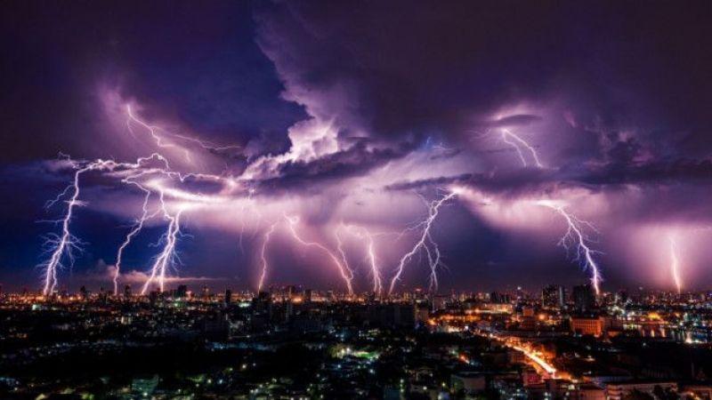 Gök Gürültülü Sağanak Yağışa Dikkat!