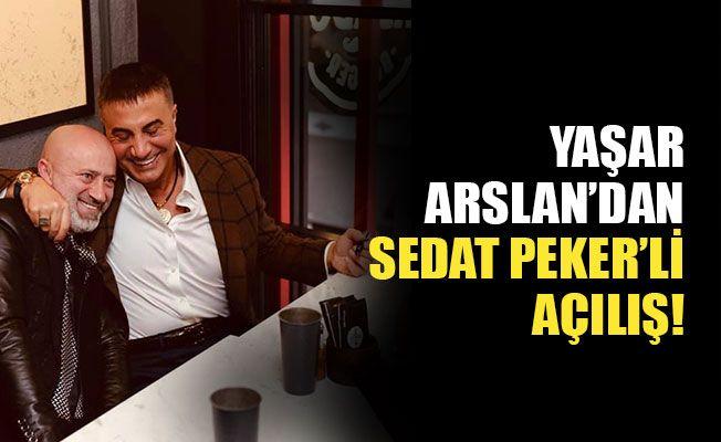 MHP'li Yaşar Arslan'dan Sedat Peker'li açılış!