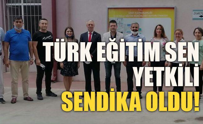 Türk Eğitim Sen yetkili sendika oldu!