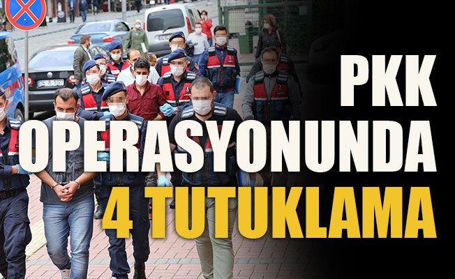 PKK operasyonunda 4 tutuklama