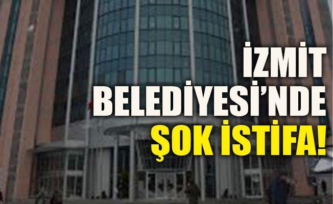 İzmit Belediyesi'nde şok istifa! Akalın istifa etti