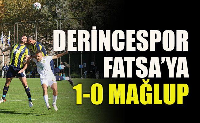 Derincespor Fatsa'ya 1-0 mağlup