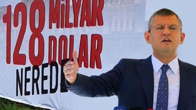 '128 milyar dolar nerede' afişi yerine tekrar asılacak