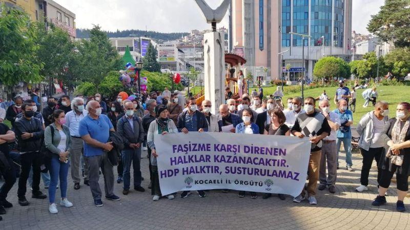 HDP'den açıklama: Türkiye demokrasisine saldırıdır