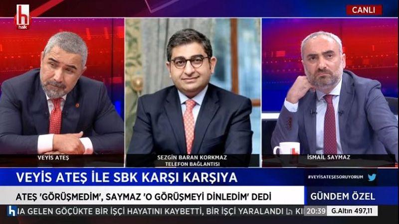 Sezgin Baran Korkmaz, Halk TV'de konuştu: Veyis Ateş benden 10 milyon euro istedi