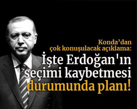 KONDA'dan çok konuşulacak açıklama: İşte Erdoğan'ın seçimi kaybetmesi durumunda planı!