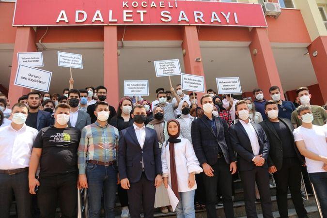 Kocaeli'de Kılıçdaroğlu hakkında suç duyurusunda bulundular