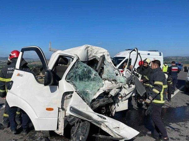 Kuzey Marmara'da feci kaza 1 ölü 1 yaralı!