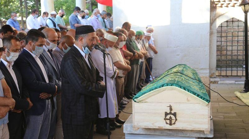 Eski damadı tarafından öldürülen federasyon başkanı son yolculuğuna uğurlandı