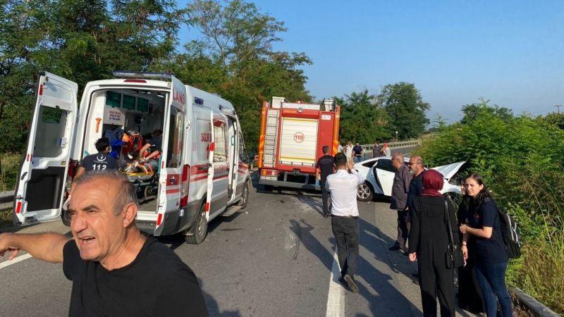 Feci kaza 14 yaralı!