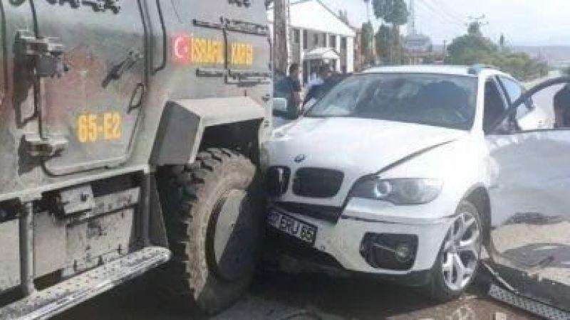 Türkkan kaza yaptı!