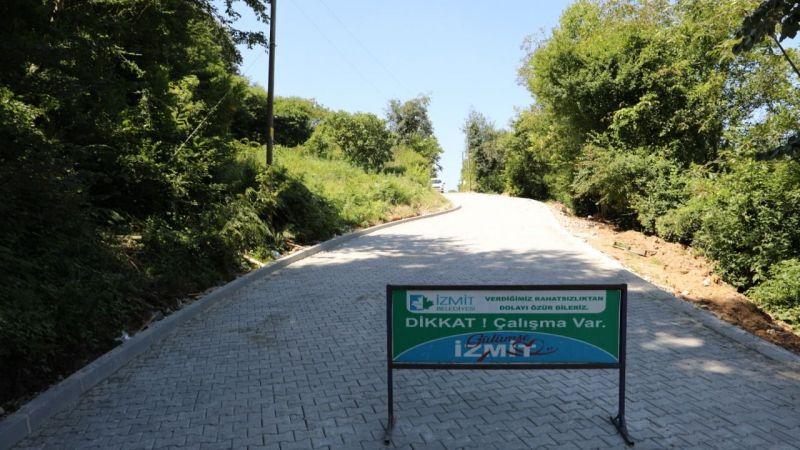 Çubuklu Osmaniye sakinleri Kandıra'ya yeni yolla ulaşacak