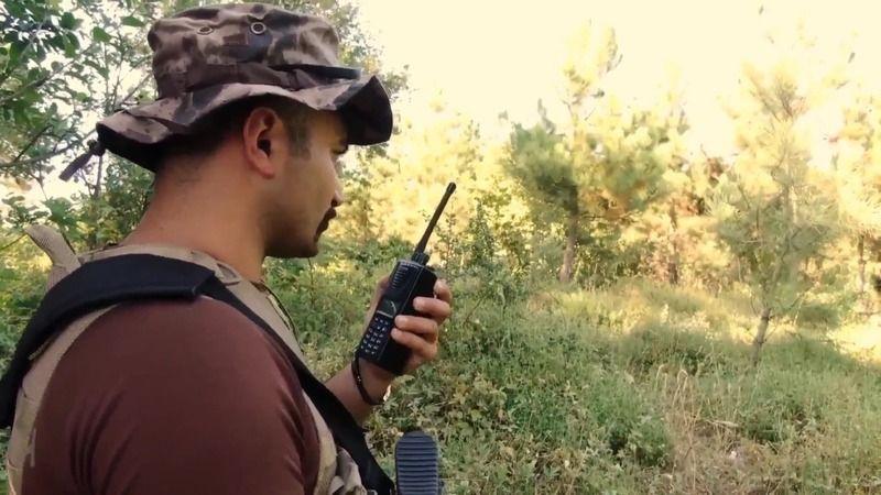 Kocaeli'de ormanlık alanlara drone ile denetim