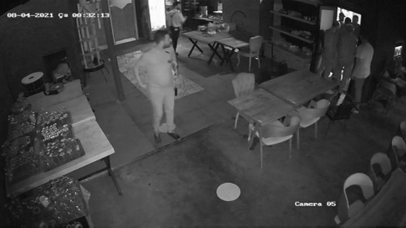 Birol Kibar cinayeti saniye saniye kamerada