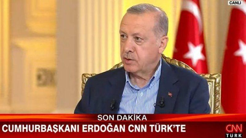 Erdoğan'dan sabotaj iddialarına ilişkin açıklama