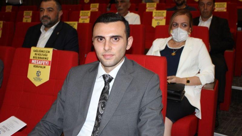 MHP'nin genç başkanı ilk kez mecliste