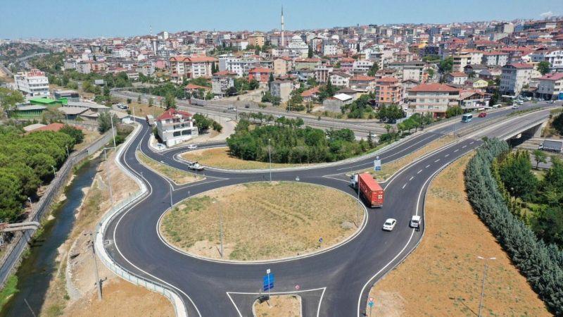 Yeni kavşakla trafik daha güvenli