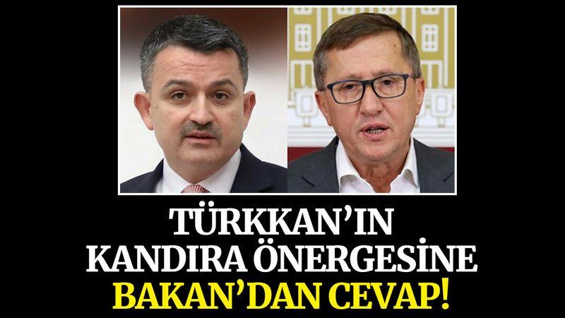 Türkkan'ın Kandıra önergesine Bakan'dan cevap!