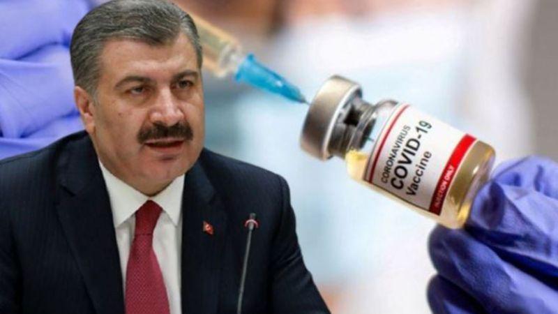 Fahrettin Koca, aşı olmayanların sayısını açıkladı