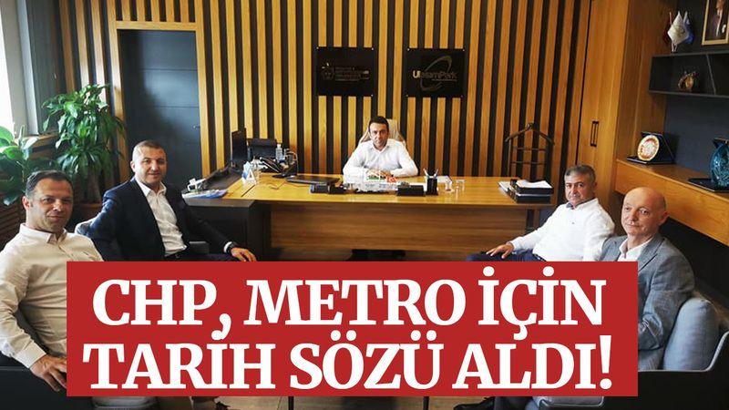 CHP, metro için tarih sözü aldı!