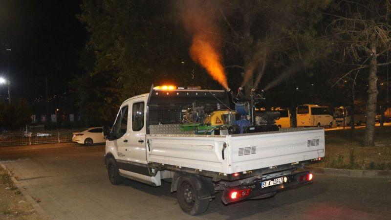 Büyükşehir'den kesintisiz 12 ay sivrisinekle mücadele