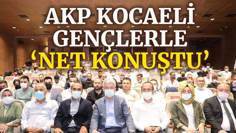 AKP Kocaeli, gençlerle 'Net Konuştu'