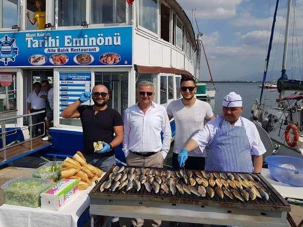 Ücretsiz balık ekmek dağıtacaklar