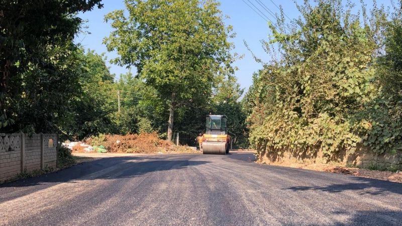 Maşukiye'de yollar daha güvenli