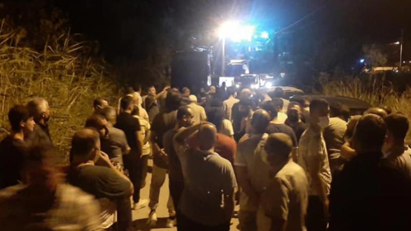 Vatandaşlar taş ocağına karşı ayaklandı