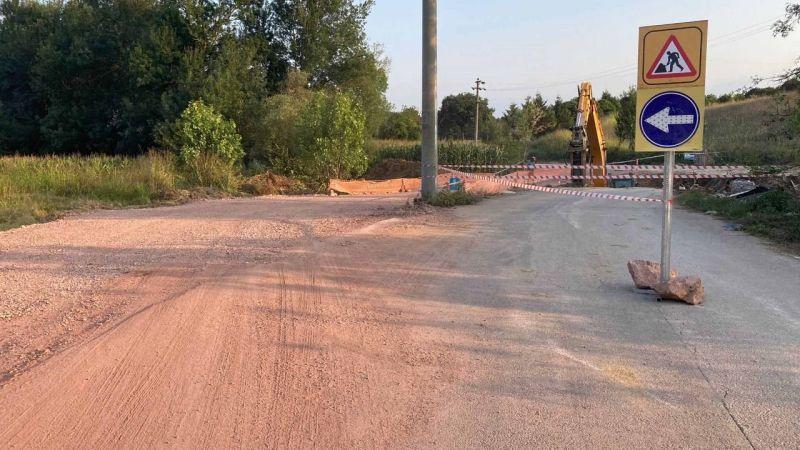 Köy yolları artık daha güvenli