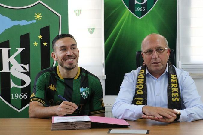 Kocaelispor Mevlüt Erdinç'le 2 yıllık sözleşme imzaladı