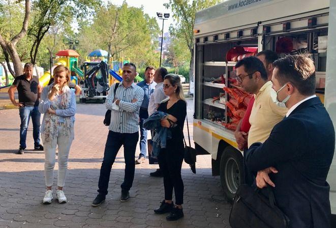Büyükşehir'in projesi belediyelere örnek oluyor