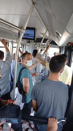 Bu otobüs her gün böyle! Vatandaş çözüm istiyor