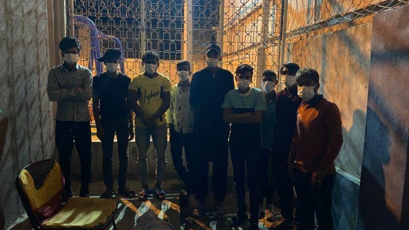 Kocaeli'de 9 düzensiz göçmen yakalandı