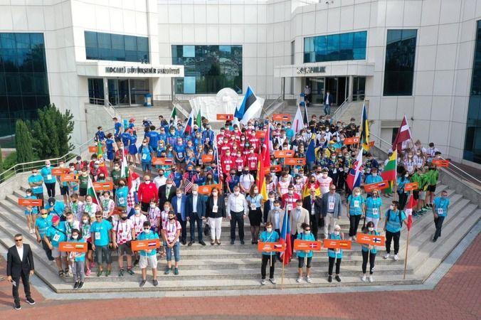 Gençler Dünya Oryantiring Yarışması, İzmit'ten start aldı