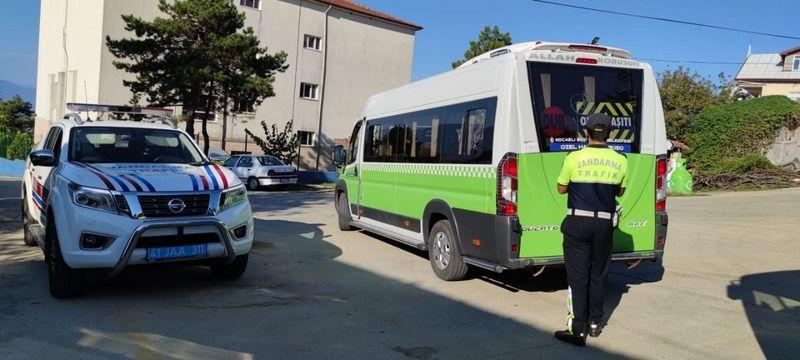 Kurallara uymayan servis araçlarına ceza yağdı
