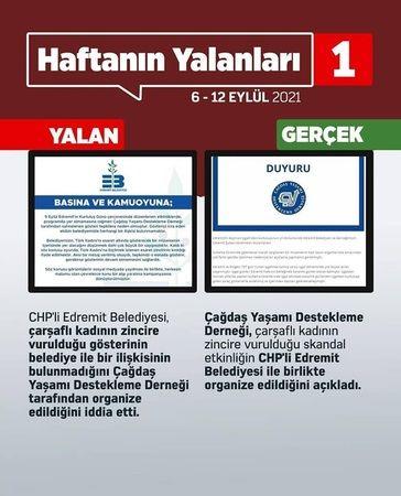 """AKP'nin """"haftanın yalanları"""" çalışmasında bakın neler var"""